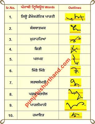 21-june-2020-punjabi-shorthand-outlines