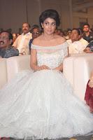 Shriya Saran in Stunning White Off Shoulder Gown at Nakshatram music launch ~  Exclusive (20).JPG