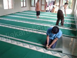 karpet masjid yasmin