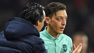 Arsenal Decided as a Whole to Drop Ozil Emery