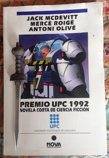 Portada del libro Premio UPC 1992, de varios autores