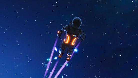 Fortnite Battle Royale - Astronaute Envole - Ultra HD 4K 2160p