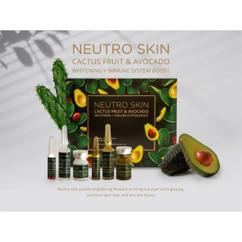 Neutro skin cactus fruit avocado whitening
