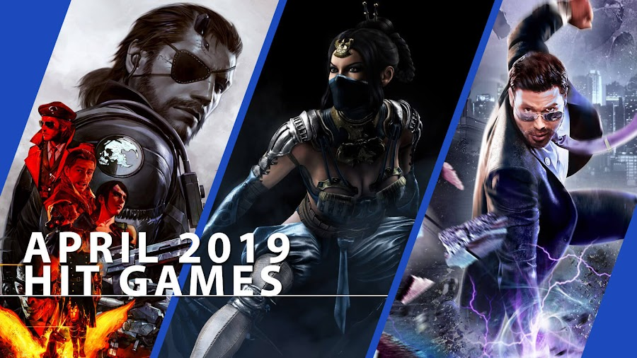 playstation now metal gear solid 5 phantom pain mkx saints row 4 hit ps4 games april 2019