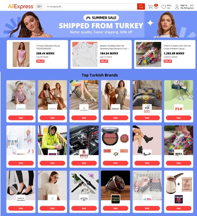 AliExpress Yaz Kampanyası ile 150'den fazla ülkeye e-ihracat yaptı!