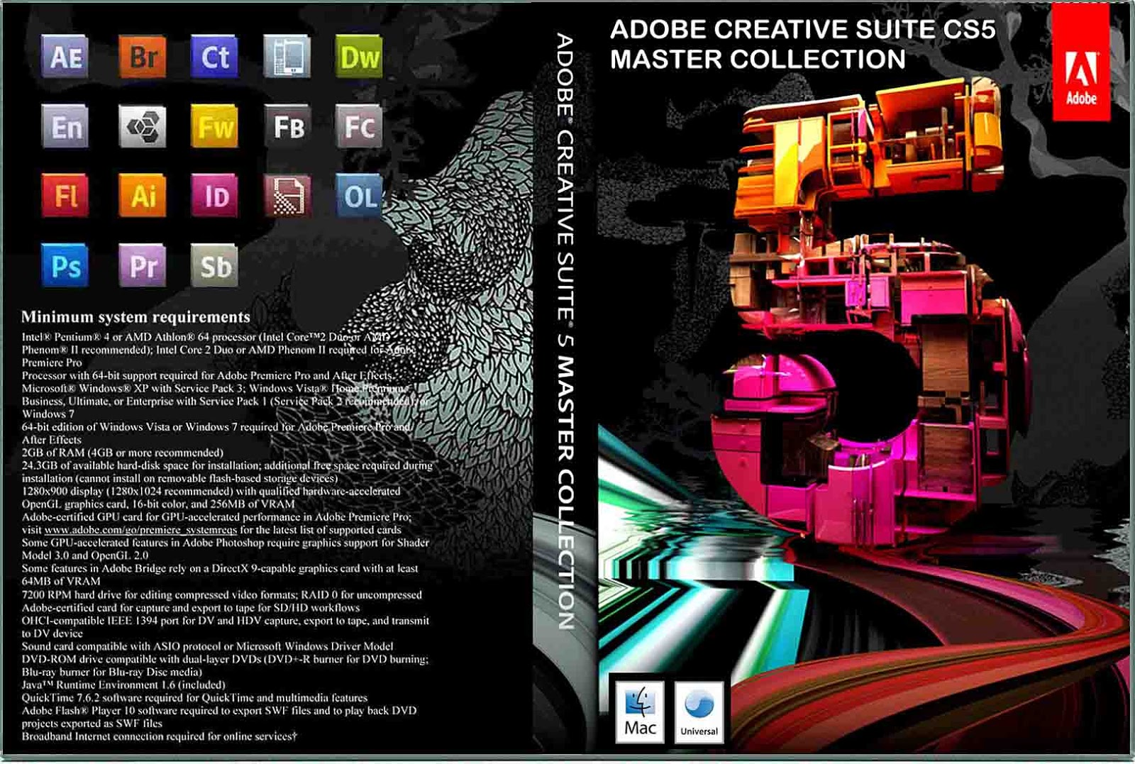 Adobe Creative Suite 6 Production Premium, Windows Retail Edition, 1 USER