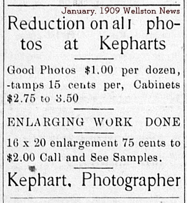 John Arthur Kephart Photography Ad Wellston Oklahoma
