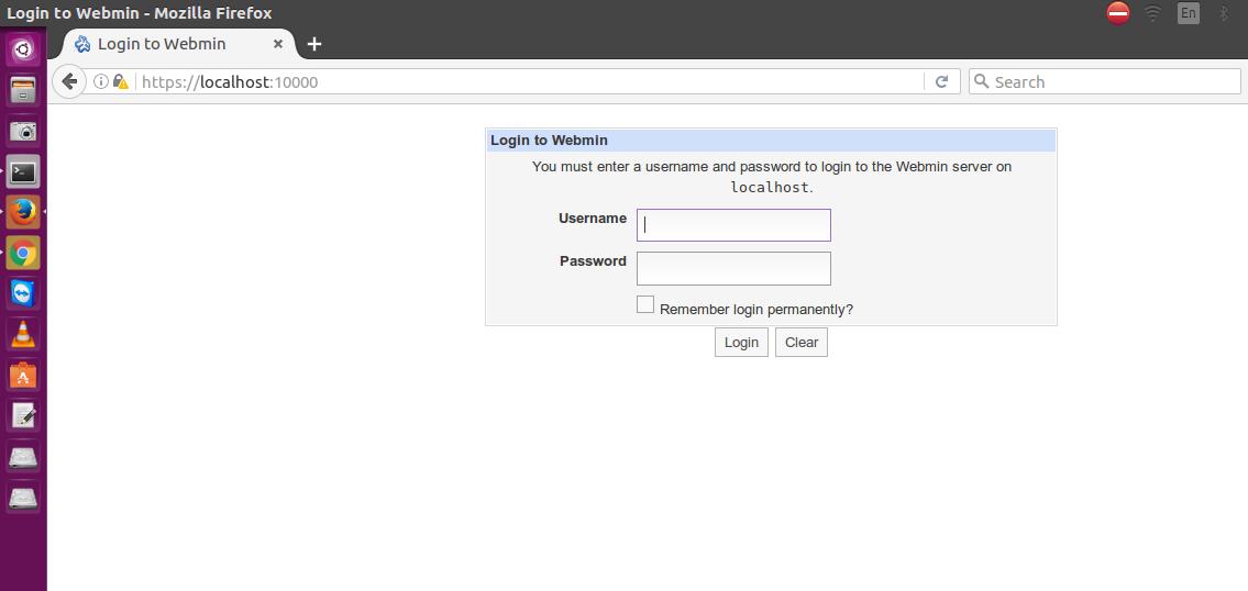 Install Webmin 1 820 on Ubuntu 16 10, Ubuntu 16 04, Ubuntu and 14 04