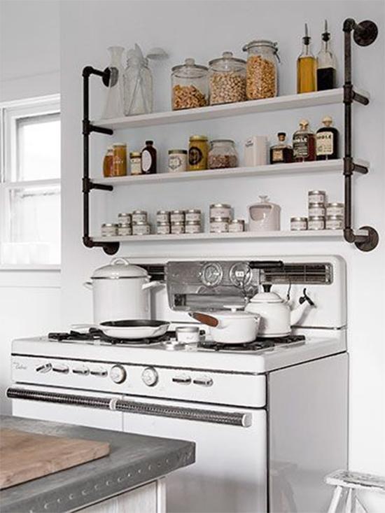 cozinha, porta temperos, estante com cano, pipe shelves, estante, faça você mesmo, diy, a casa eh sua, acasaehsua, móvel, armário