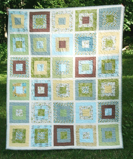 Mary's Wedding Quilt designed by Allison Harris of CluckCluckSew