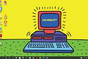 Unduh tema Windows 1.0 dari Microsoft Store