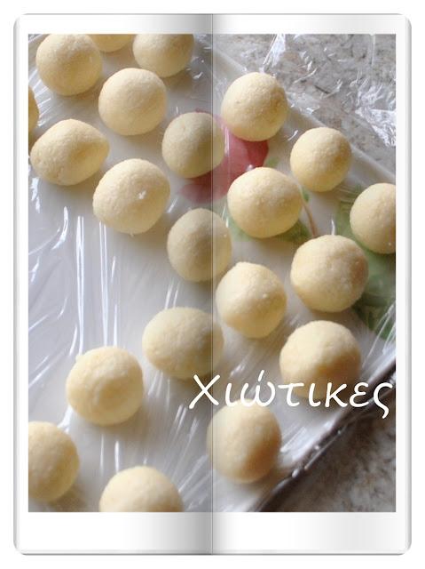 Τρουφάκια καρύδας