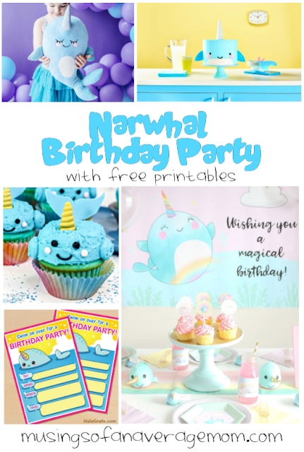 Narwhal Birthday Party