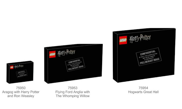 Lego Harry Potter Summer 2018: 75950, 75953, 75954