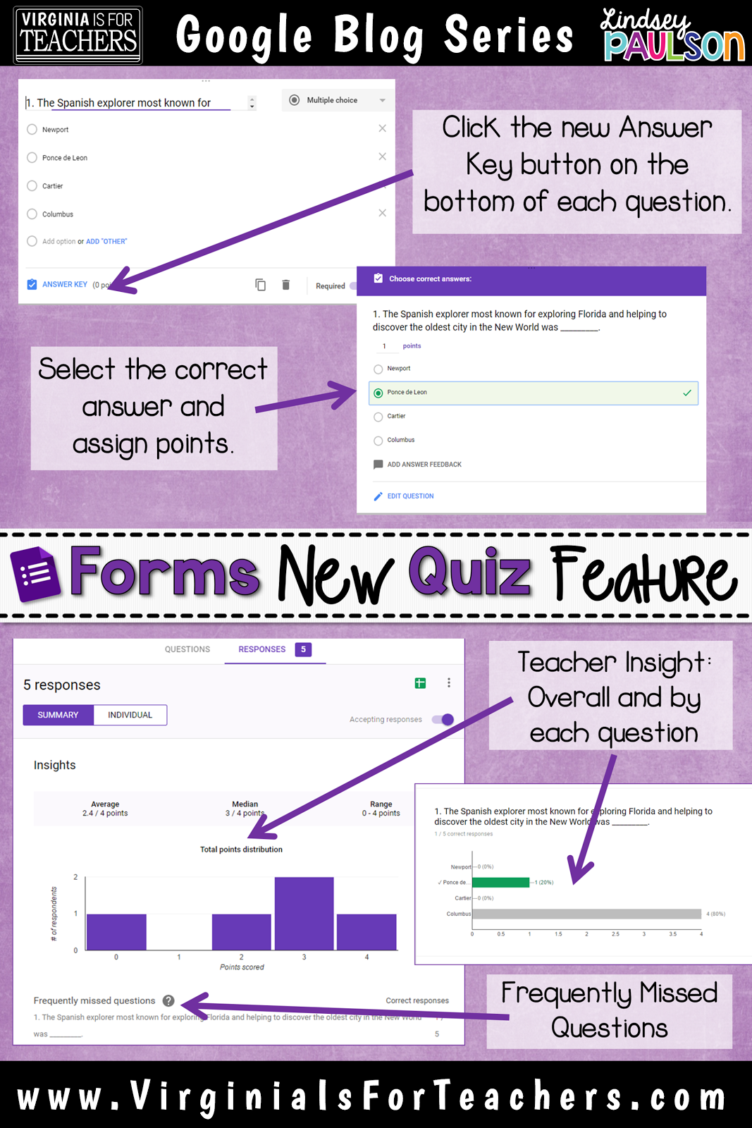 GAFE: Make Google Forms for for you! | Virginia is for Teachers