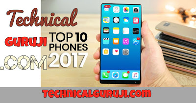 2017 me india me sabse jyada search kiye gaye 10 most popular Smartphones