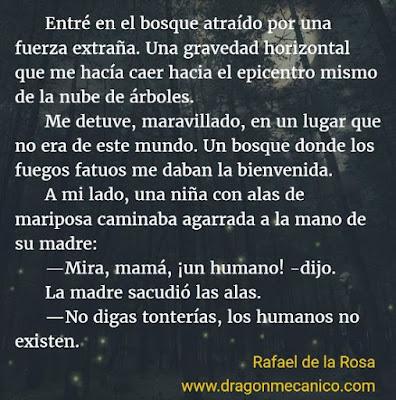 Microrrelato de fantasia, Cuentos Mecanicos, Rafael de la Rosa