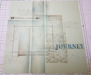 One Paper, One Photo Challenge by Tricia Morris; Adirondacks Collection from Club Scrap #clubscrap #bloghop #scrapbooking