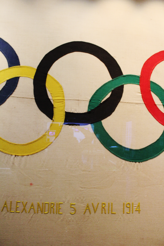 The Olympic Museum - The Wayfarer