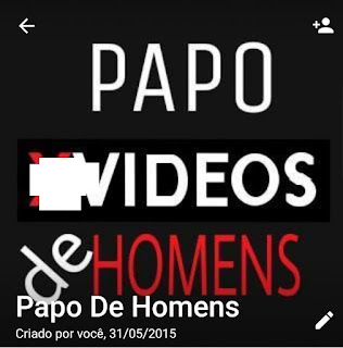 Papo de Homens - Links de Grupos de WhatsApp