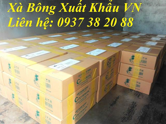 Xuất Khẩu Xà Bông Thiên Nhiên COCOSAVON Việt Nam