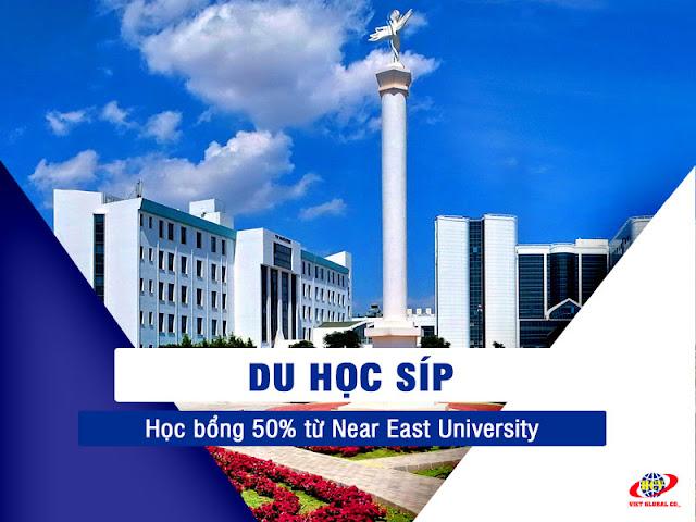 Du học Síp: Near East University cấp học bổng 50% học phí