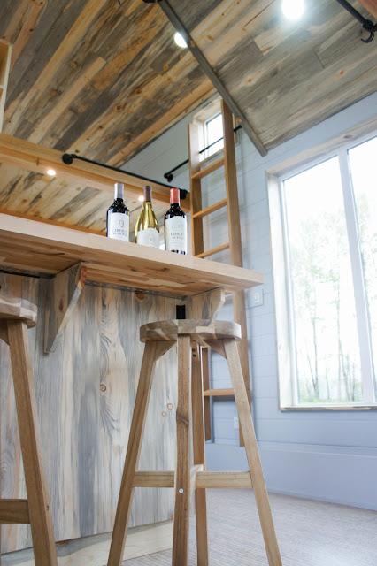 Kootenay wine tasting house