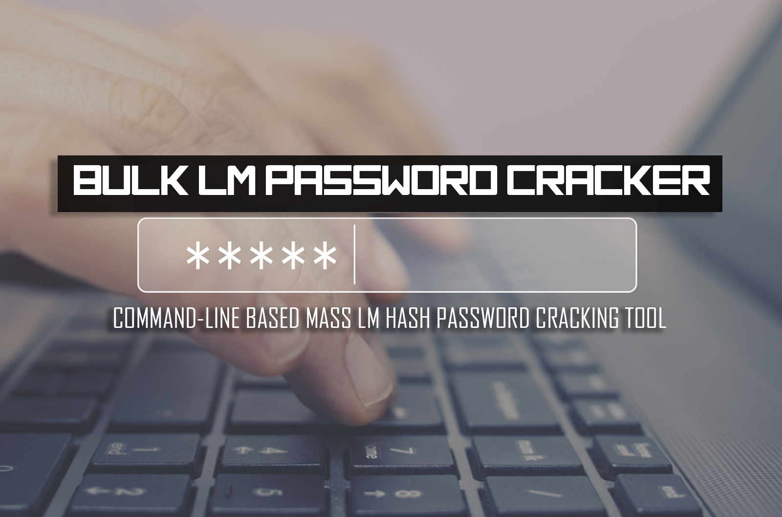 Bulk LM Password Cracker