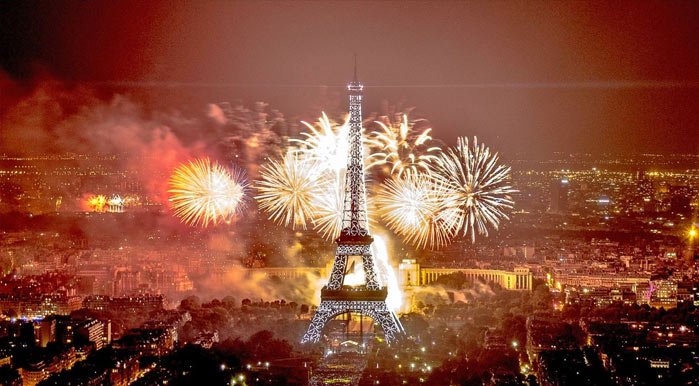 New year eve in Paris