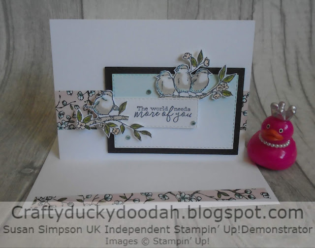 Craftyduckydoodah!, Free As A Bird, Susan Simpson UK Independent Stampin' Up! Demonstrator, Hopping Around The World, Supplies available 24/7 from my online store,