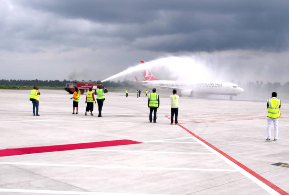 Turkish Airlines Commences Flights to Port Harcourt Airport Amidst Fanfare - Photos
