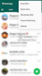 Log Out Melalui Akun Whatsapp Di HP Tanpa Menghapus Akun
