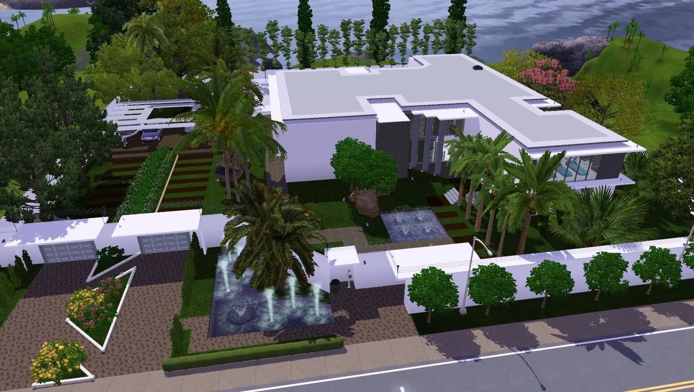 Eightsims the sims 3 the sims 4 rm6 mans o viva no luxo for Casas modernas the sims 4