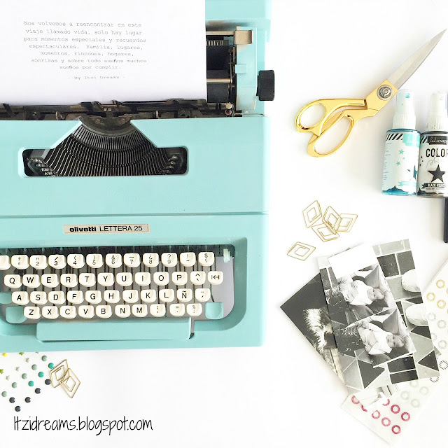Typewriter Mint, DIY, sprays novasol,
