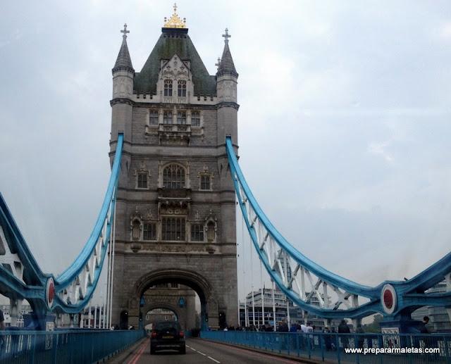 Tower Bridge, el puente más bonito de Londres