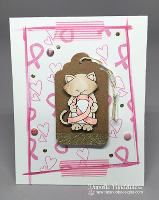 Newtons Support | Newtons Nook Designs | Card Created by Danielle Pandeline