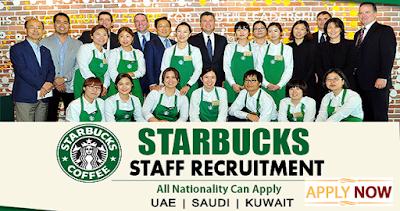Latest Jobs In Starbucks Dubai & KSA