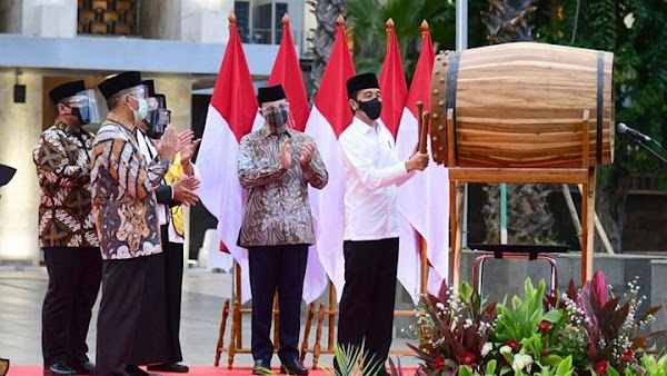 Jokowi: Isra Miraj Nabi Muhammad Mengingatkan Kita Pada Keagungan Allah