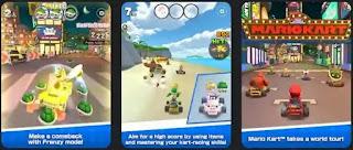 تحميل لعبة سباق سوبر ماريو Mario Kart Tour مهكرة جاهزة للاندرويد