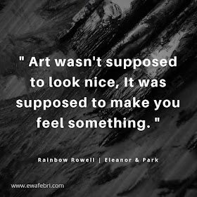 Art wasn't supposed to look nice, it was supposed to make you feel something