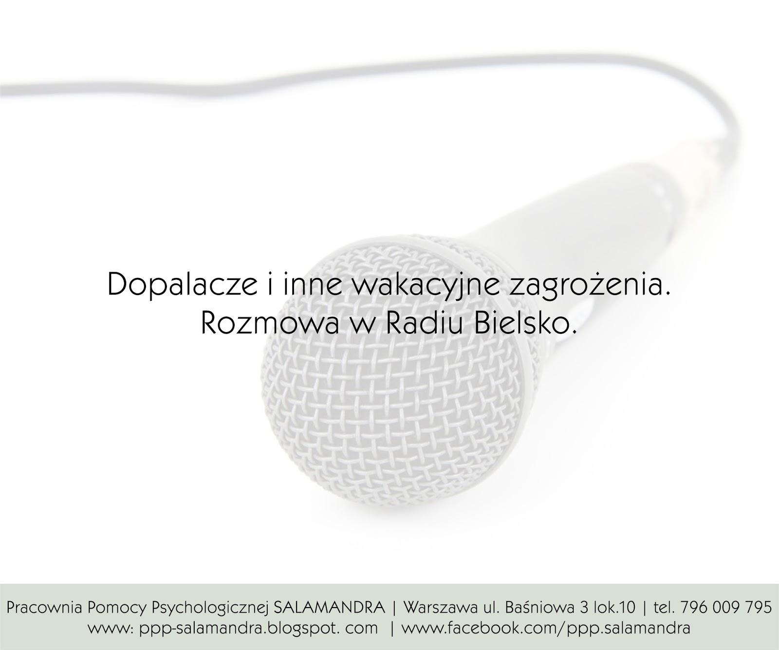 Dobry psycholog Warszawa w Radio Bielsko