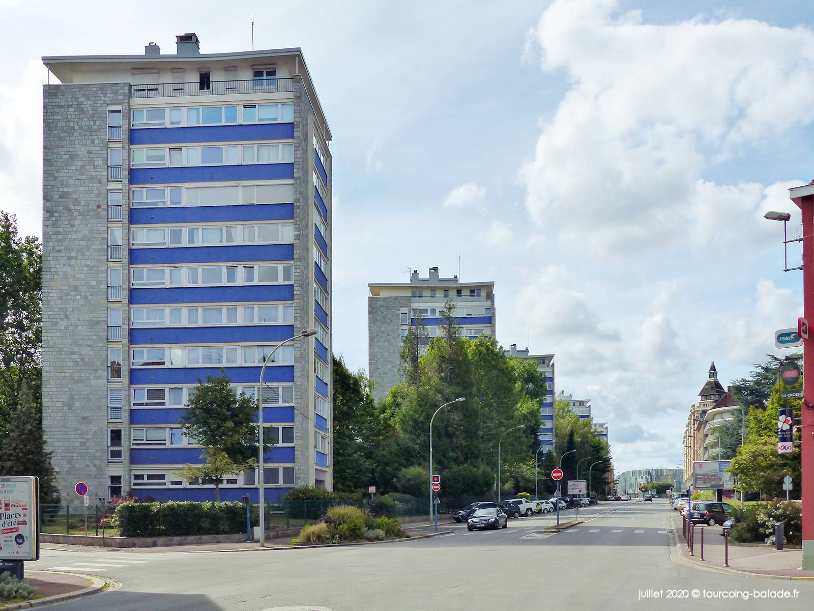 Tours Avenues Gustave Dron, Tourcoing 2020