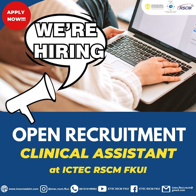 Info Magang ICTEC FKUI RSCM - Clinical Assistant