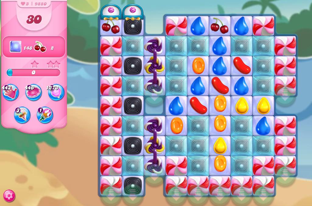 Candy Crush Saga level 9880