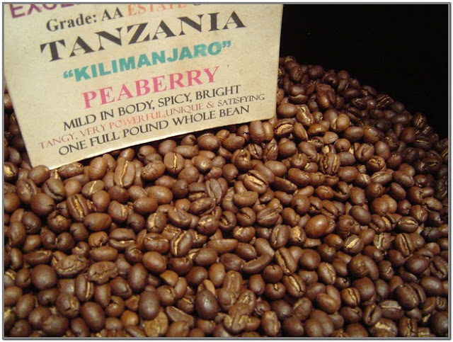 Tanzania Peaberry Coffee;Best Coffee Beans in World;World's Best Coffee Beans;