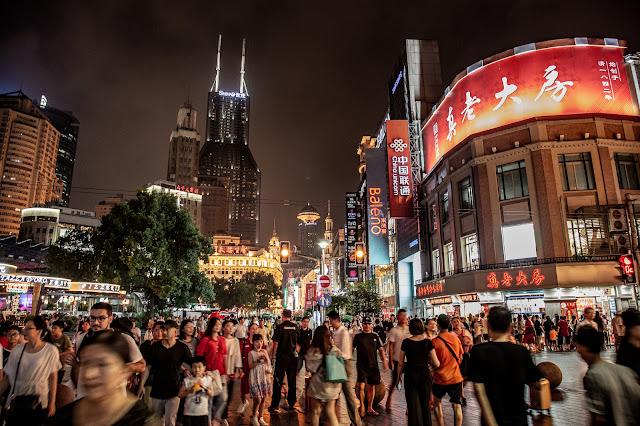 31. Shanghai - skyline del Bund