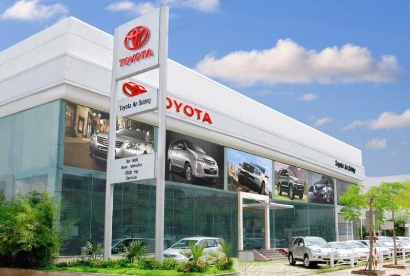 Showroom Toyota An Sương tại TPHCM