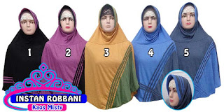 jilbab instan terbaru dan murah bahan kaos misty