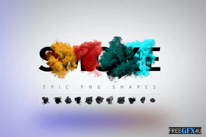 Smoke PSD Effect Shapes Toolkit