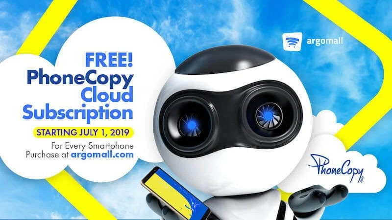 Get Free PhoneCopy Cloud Service with Every Phone Purchase at Argomall